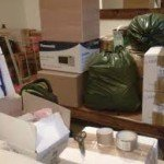Image of Packing Boxes ready For Moving House