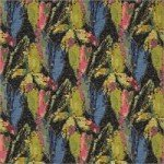 Bright tapestry weave fabric