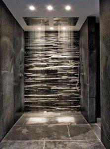 Image of beautiful shower