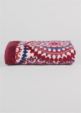 bohemian-printed-hand-towel-matalan
